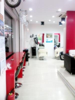 小型美发店装修图简装分享展示图片